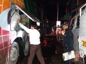 Leoncio Prado: PNP interviene bus con 50 kilos de coca ilegal