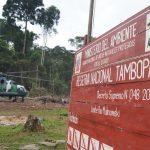Reserva Nacional Tambopata: Recuperan más de 500 hectáreas de la minería ilegal