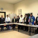 Alcaldes buscan de mercados globales para agricultores de cuatro regiones