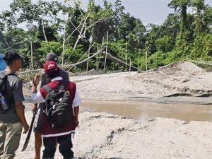 Condorcanqui: Mineros ilegales amenazan de muerte a autoridades locales