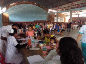 Comunidades awajún reciben atención médica