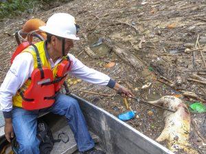 """Califican de """"alarmante"""" la contaminación en el río Huallaga"""