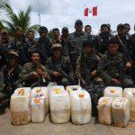 Cusco Policía decomisó 200 kilos de cocaína en el Kimbiri
