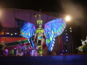 Huánuco: Leydy Menacho fue elegida Señorita Carnaval 2017