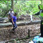Leoncio Prado: Destruyen laboratorio clandestino de elaboración de cocaína