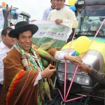 Refuerzan equipamiento agrícola de 500 productores en Apurímac
