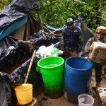 Vraem: Policía destruyó tres pozas de maceración de cocaína