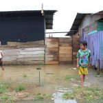 Lluvia inundó cinco asentamientos humanos en Puerto Maldonado