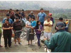 Alimentación adecuada en caso de emergencia por huaicos