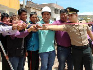 Ayacucho: Más pistas y veredas para el distrito de Jesús Nazareno