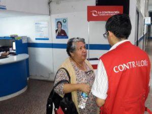 Contraloría verifica calidad de servicios públicos en Tingo María