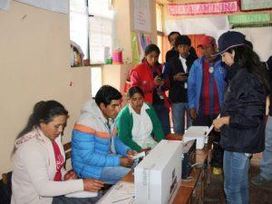 Destacan rapidez en obtención de resultados de comicios en Ayacucho y Ucayali