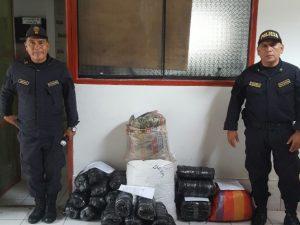 Leoncio Prado: Policía decomisó 113 kilos de hoja de coca