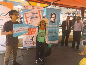 Lanzan campaña contra la trata de personas