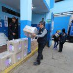 ONPE desplegó material electoral para elecciones ediles en nuevos distritos