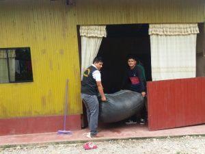 Policía decomisa 368 kilos de hoja de coca en Leoncio Prado