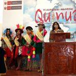 Puno: Analizan ventajas del cultivo de la quinua