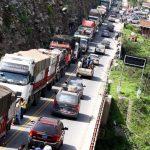 Restablecen tránsito vehicular en cinco vías a nivel nacional