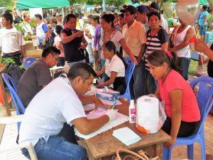 San Martín: Llevan ayuda humanitaria a población de Tabalosos