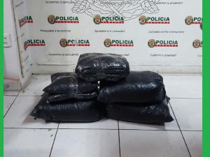 Tingo María: Policía intervino cargamento ilegal de hoja de coca