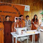 Vraem: Fortalecen capacidad productiva de mujeres emprendedoras asháninkas