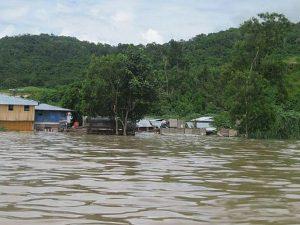 Cuatro ríos amazónicos en alerta roja