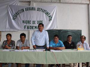 Declaran persona no grata a gobernador regional madrediosino