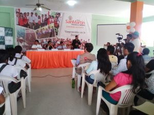 Goresam impulsa participación juvenil a favor del desarrollo de Tocache