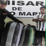 Leoncio Prado: Decomisaron 80 kilos de coca ilegal