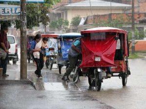 Prevén llegada de precipitaciones moderadas en la selva norte