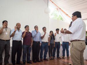 Toma juramento comité para zonificación forestal de San Martín