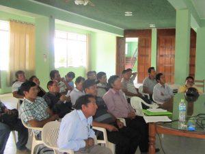 Tocache: Productores asistieron a taller sobre asociatividad