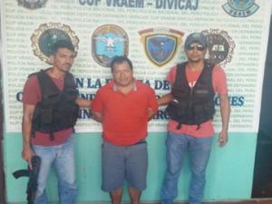 Capturan a narcotraficante que operaba en el Vraem