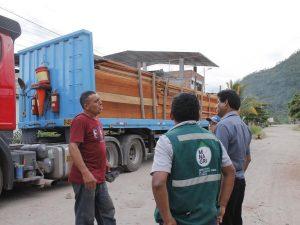 Junín: Decomisan madera ilegal valorizada en S/100 mil