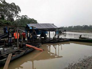 Madre de Dios: Intervienen campamento de mineros ilegales