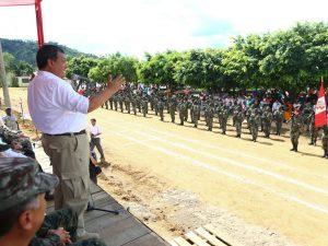 Ministro Jorge Nieto destacó lucha antiterrorista en el Vraem