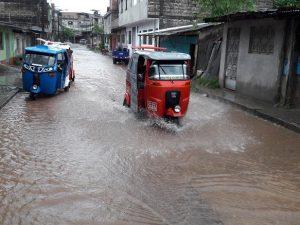 Tingo María afectada por intensas lluvias