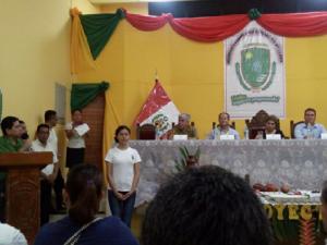 Ucayali: Alcalde de Yurúa se presentó ante presidenta del Congreso