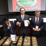 Vicepresidente Martín Vizcarra lanzó concurso cafetero mundial más prestigioso