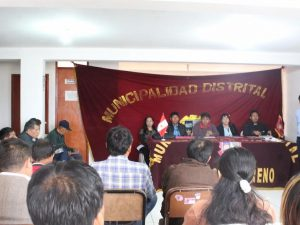 Ayacucho: Desarrollan sesión de presupuesto participativo en Jesús Nazareno