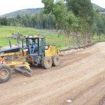 Ayacucho: Inician asfaltado de carretera Chupas-Chiara