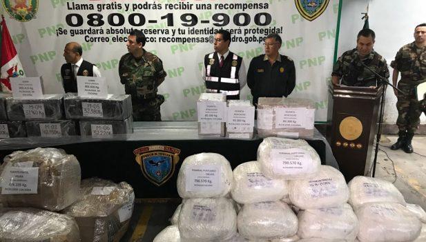 Dirandro decomisa más de 2500 kilos de droga — Golpe al narcotráfico