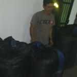 Leoncio Prado: Decomisan 340 kilogramos de hoja de coca ilegal