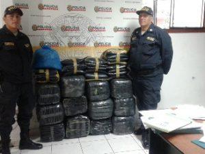 Leoncio Prado: Decomisan más de 200 kilos hoja de coca