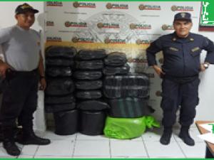 Leoncio Prado: Incautan más de 560 kilos de hoja de coca