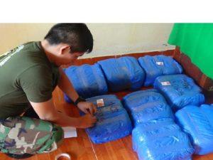 Pachitea: Decomisan más de 150 kilos de marihuana
