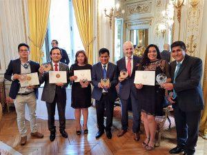 Perú logró 23 galardones en III Concurso Internacional de Cafés Tostados en París