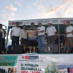 Realizaron feria agrícola en homenaje a los productores del Vraem