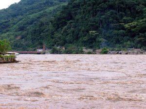 Continúa incremento de nivel del río Napo