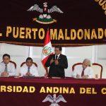 Universidad Andina del Cusco desarrolla preoceso de admisión en Madre de Dios